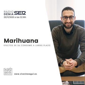 Marihuana a largo plazo